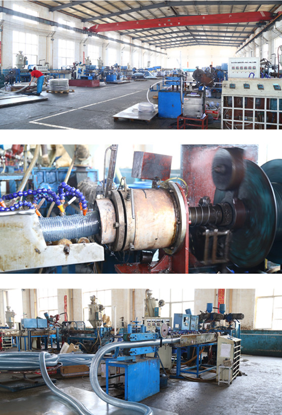 factory of pvc steel wire hose
