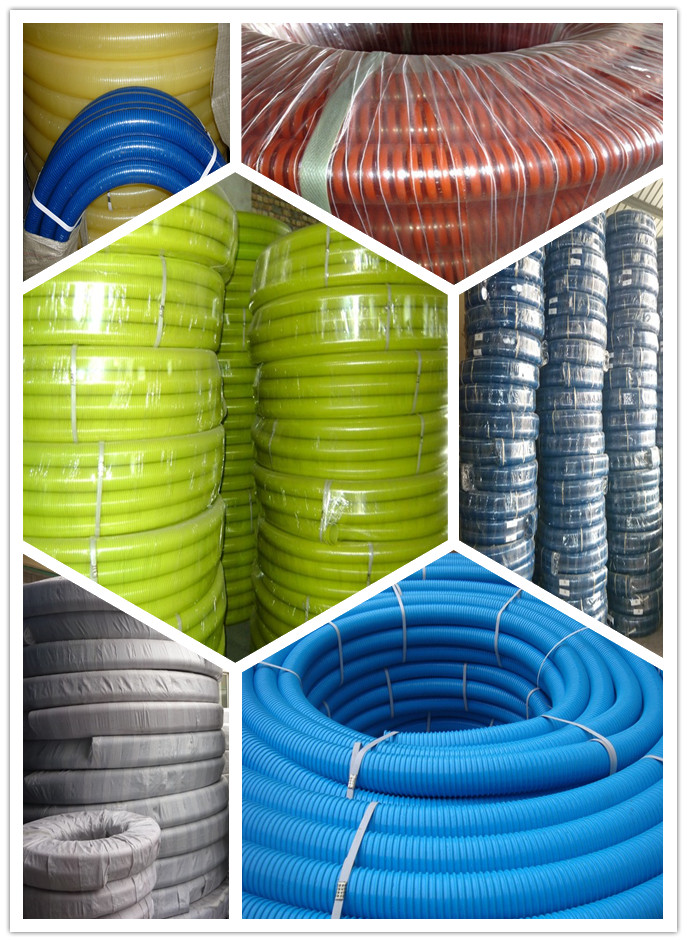 pvc suction hose package