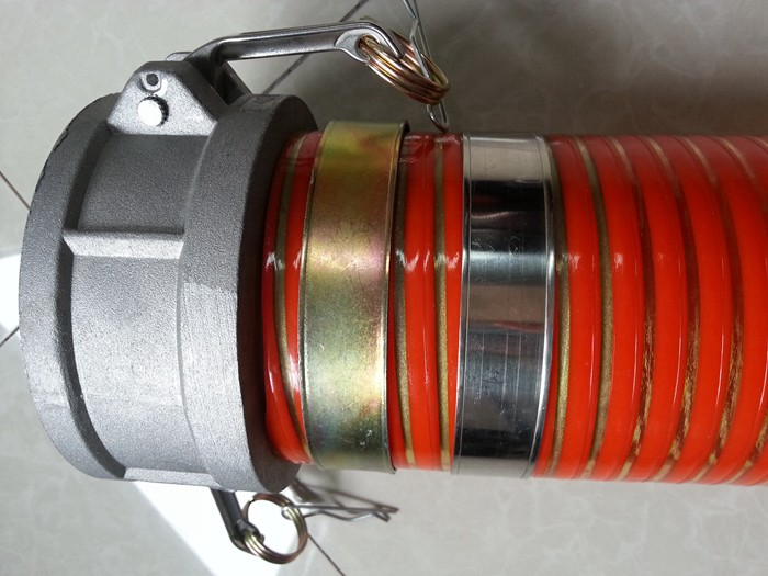 PVC Suction Hose with coupling